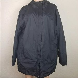 Columbia OmniTech Waterproof Black Jacket Plus 2XL